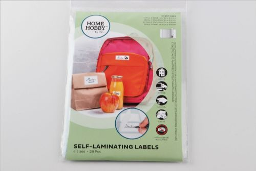 HOMEHOBBY by 3L Self Laminating Labels